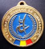 5.108 ROMANIA MEDALIE FEDERATIA ROMANA DE GIMNASTICA 49mm I