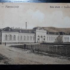 OCNA MURES - UIOARA - MAROSUJVAR - BAIA SARATA - PERIOADA INTERBELICA - SEPIA, Circulata, Fotografie