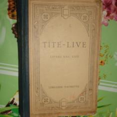 Titus Livius - De la fundarea Romei / libri XXI-XXII / text latin /2harti/379pag