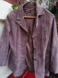 Sacou/Jachetă piele întoarsă dama