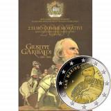 SAN MARINO  2007  2 Euro comemorativ – Giuseppe Garibaldi - BU / Folder