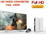 HD Video Converter VGA to HDMI Cu Audio