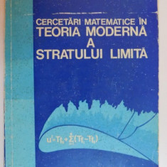 CERCETARI MATEMATICE IN TEORIA MODERNA A STRATULUI LIMITA de SAVULESCU ST. N. ...M. BUCUR , 1981