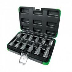 Set chei torx JBM 53103, dimensiuni T20-T100, Cr-V, cromat, valiza transport