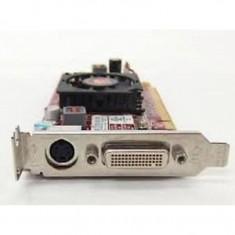 Placa video PCI-E ATI RADEON HD4550 512MB, Low Profile + Cablu DMS-59 cu doua iesiri VGA