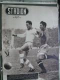 Revista Stadion (1953) Dinamo Bucuresti-Dinamo Tbilisi 2-1