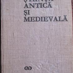 Stiinta antica si medievala vol.1 De la origini la 1450