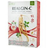 Laptisor de Matca cu Ginseng Rosu si Vitamina C Realgin-C 20 fiole Bipole Cod: PB20009