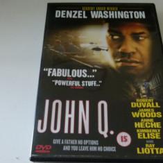 John q - dvd, Engleza