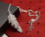 Cumpara ieftin Colier din argint -- FRUNZA -- Arg54