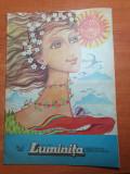Revista pentru copii - luminita martie 1986