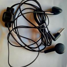 Casti stereo handsfree Nokia WH-10, microfon incorporat, conectare jack 2,5 mm