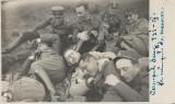 Fotografie ofiteri romani cavalerie Campulung 1931