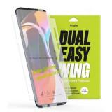 Folie Xiaomi Mi 10Xiaomi Mi 10 Pro Ringke Dual Easy Full Cover 2 Pack Clear