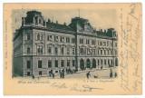 2377 - CZERNOWITZ, Bucovina, Post Office, Litho - old postcard - used - 1902