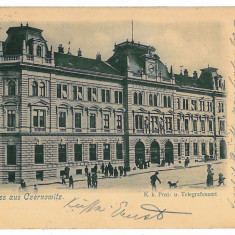 2377 - 11269 CZERNOWITZ, Bukowina, Post Office - old postcard - used - 1902