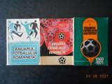 ANUARUL FOTBALULUI ROMANESC (1909-1967) (1967-1969) (1969-1971) 3 volume