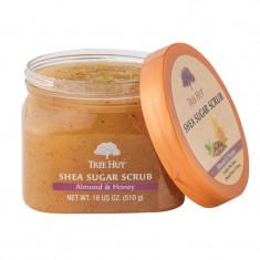 Exfoliant de corp Almond Honey Tree Hut, 510 g, aroma migdale/miere