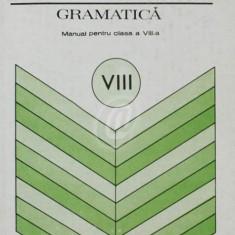 Limba romana. Gramatica. Manual pentru clasa a VIII-a