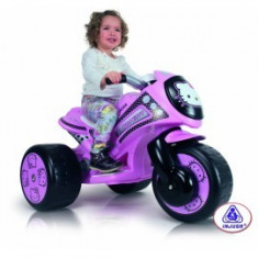 Tricicleta electrica Injusa Tribike Hello Kitty 6V (INJ7294)