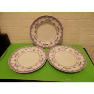 Trei  FARFURII RARE de colectie GUSTAVSBERG VENUS , inceputul anilor  1900