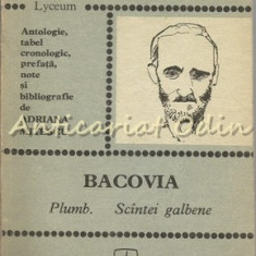 Plumb. Scintei Galbene - George Bacovia