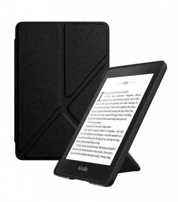 Husa Kindle Paperwhite 1,2,3 (Gen.5,6,7) Suport birou | Magnet +Folie+carti