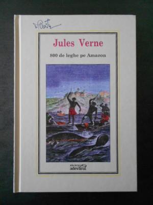 Jules Verne - 800 de leghe pe Amazon * Adevarul, Nr. 27 foto