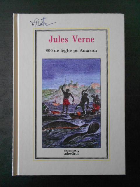 Jules Verne - 800 de leghe pe Amazon * Adevarul, Nr. 27