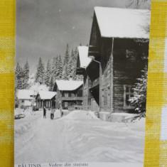 Paltinis - vedere din statiune - vedere circulata 1965