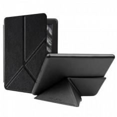 Husa de protectie KRASSUS pentru eBook Kindle Paperwhite 2017 flip cover, negru