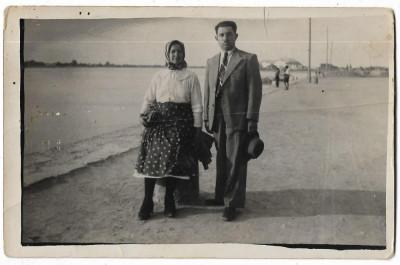 B2202 Familie sat Sag Timis Banat 1939 poza veche regalista foto