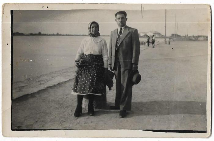 B2202 Familie sat Sag Timis Banat 1939 poza veche regalista