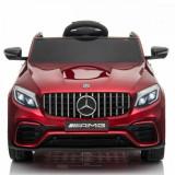 Masinuta electrica Mercedes Benz GLC 63 Rosu Editie Limitata