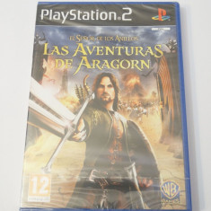 Joc Playstation 2 - PS2 - The Lord of the Rings: Aragorn's Quest - sigilat