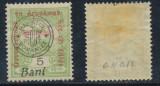 ROMANIA 1919 emisiunea Cluj timbru de ajutor cu sursarj maghiar si romanesc MLH