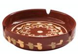 Cumpara ieftin Scrumiera ceramica, lut, 13cm, 016314