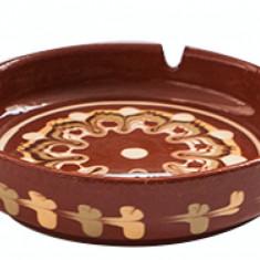 Scrumiera ceramica, lut, 13cm, 016314