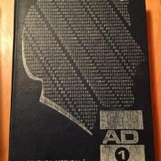 DICTIONAR ENCICLOPEDIC DE PSIHIATRIE VOL.I BUCURESTI 1987 -CONSTANTIN GORGOS
