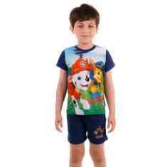 Pijama baieti Paw Patrol albastra