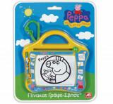 Tabla de scris Magic Scribbler travel - Peppa Pig