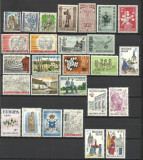LOT TIMBRE BELGIA MNH LUX