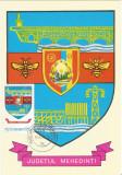 România, LP 942/1977, Stemele judeţelor (E-V), (uzuale), c.p. maximă, Mehedinţi
