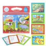 Carte colorat cu apa – Animale