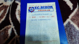 program      FC  Bihor  -   Victoria  Carei