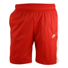 Pantaloni scurti barbati Nike Red NSW CE Woven Core Track Shorts 927994-658