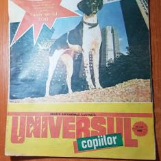 Revista universul copiilor nr. 27-28/ iulie 1990  - numar dublu