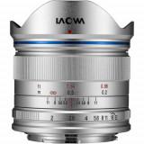 Obiectiv Manual Venus Optics Laowa wide-angle 7.5mm f/2 Silver pentru DJI Inspire X5 MFT M4/3 Ultra-Light