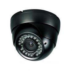 Camera supraveghere iUni ProveCam C071, CMOS, 700 linii, 24 led IR, lentila fixa 3.6mm, Negru