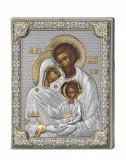 Icoana argint Sfanta Familie Valenti Cod Produs 2229